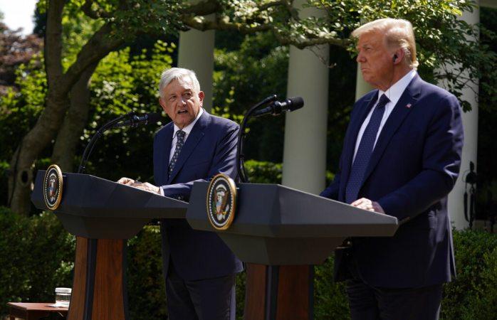 Declaración conjunta sobre t-mec de Amlo y Trump