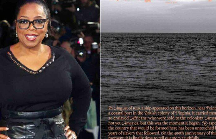 Llevará oprah al cine y tv proyecto que examina la esclavitud