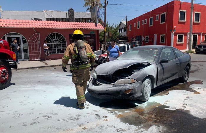 Asisten bomberos en dos servicios