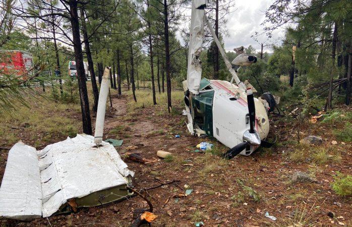 Identifican a heridos en avionetazo
