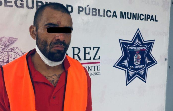 Detienen a presunto narcomenudista en poder de una libra de marihuana