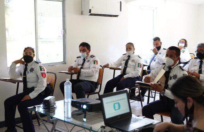 Recibieron agentes de seguridad vial curso de actualización