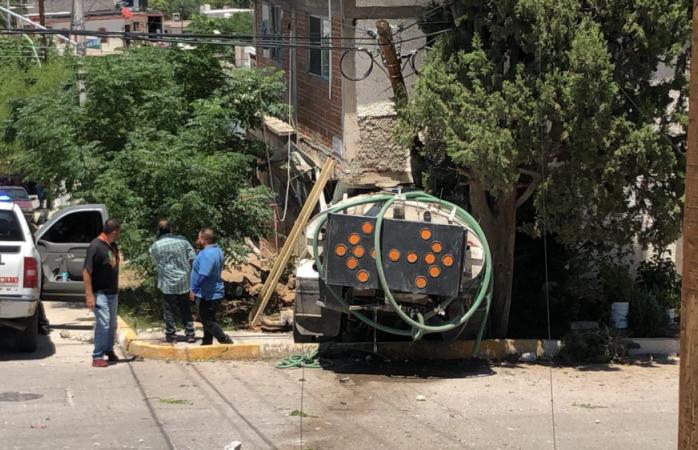 Pipa accidentada en la barrio de londres no pertenece a la jmas