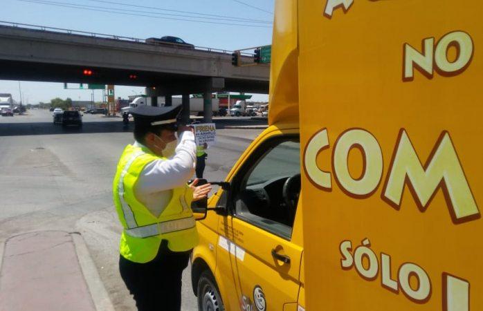 Finaliza seguridad vial campaña para respetar los semáforos