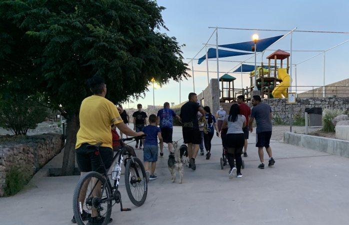 Parque recreativo el rejón sin seguir las medidas de prevención