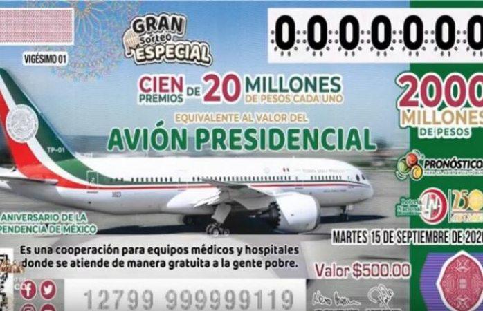 Reinicia venta de cachitos para rifa del avión presidencial