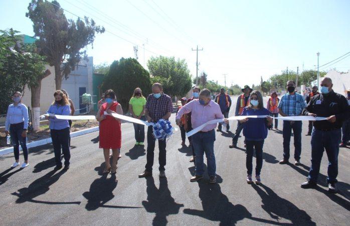 Dan banderazo de inauguración de la calle Abraham González en Cárdenas