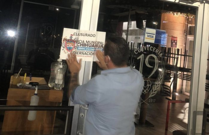 Clausuran 5 bares por sobrecupo
