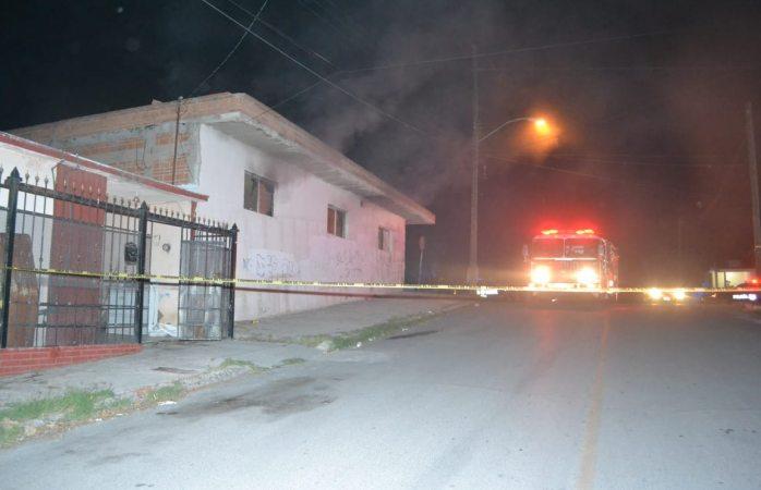 Incendio en carpintería de la colonia Industrial