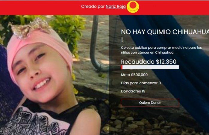 Inician campaña: no hay quimio en Chihuahua