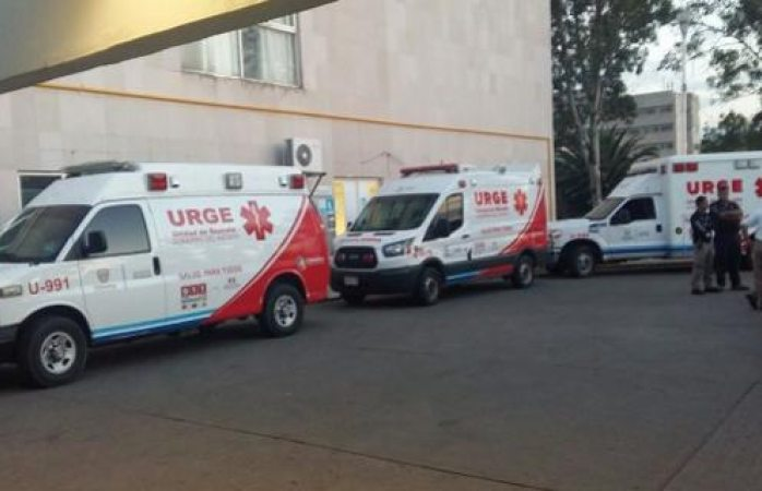 Se descompone ambulancia de urge en pleno traslado