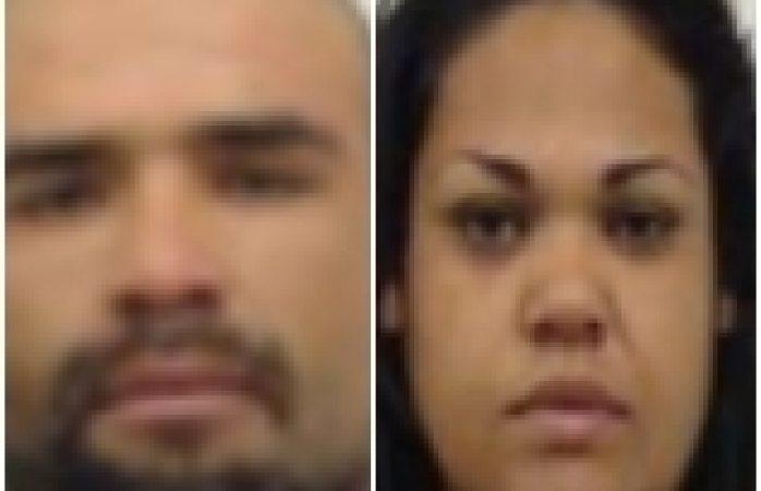 Dictan sentencia contra pareja detenida por robo a mano armada
