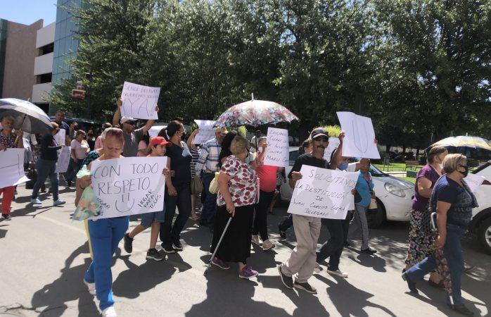 Manipulan marcha por la vivienda