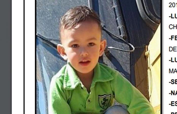 Desaparece niño de cuatro años en cuauhtémoc