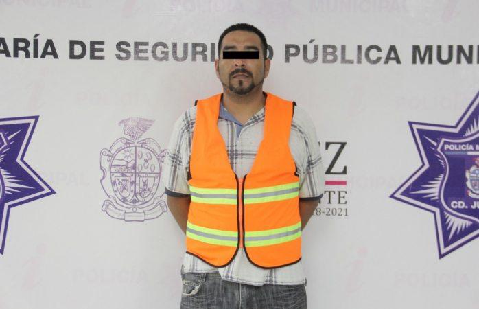 Arrestan a narcomenudista y le decomisan  38 dosis de cristal