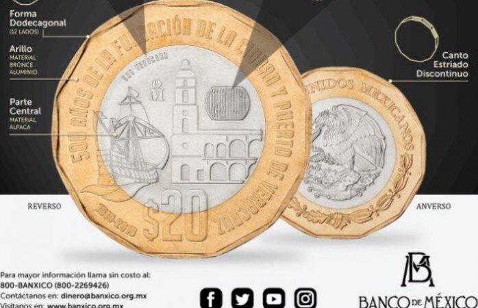 Moneda de 20 pesos
