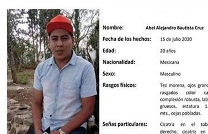 Piden ayuda para hallar a joven desaparecido