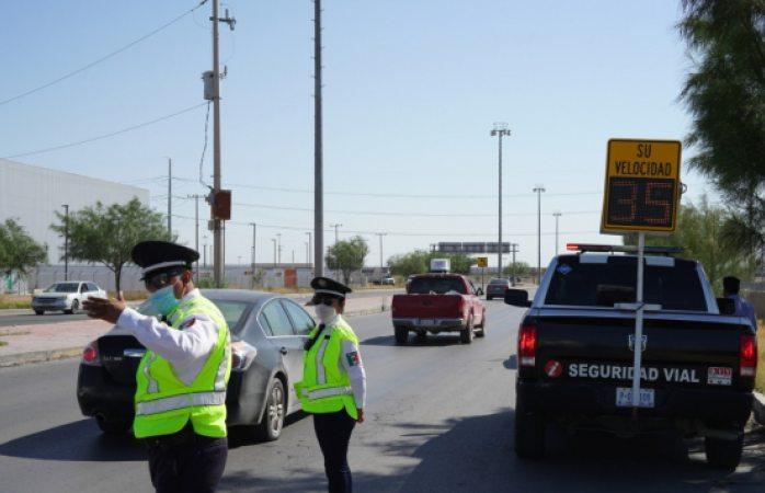 Intensifican programas para prevenir exceso de velocidad en avenidas
