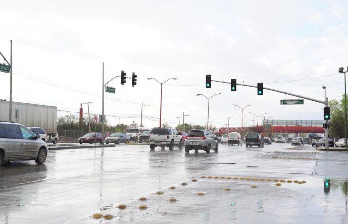 Pide seguridad vial precaución por lluvia el fin de semana