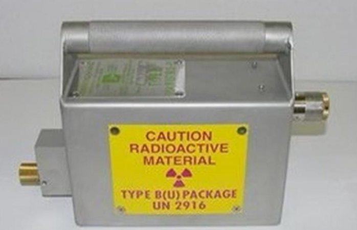 Alertan aquí por fuente radioactiva extraviada