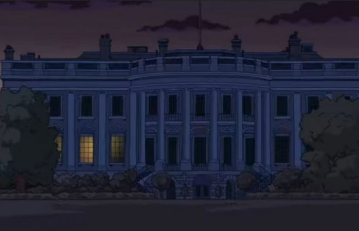 ¿Los Simpson predijeron la casa blanca apagada?