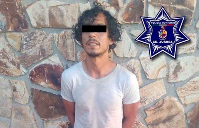 Detienen municipales a sujeto por el delito de robo