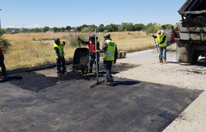 Reparan más de 16 mil baches en diversos sectores de la ciudad