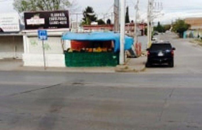 Piden remarcar paso peatonal de nueva España e indio jerónimo