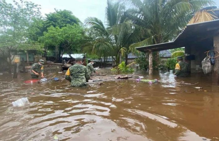 Emiten alerta azul en yucatán por paso de tormenta tropical cristobal