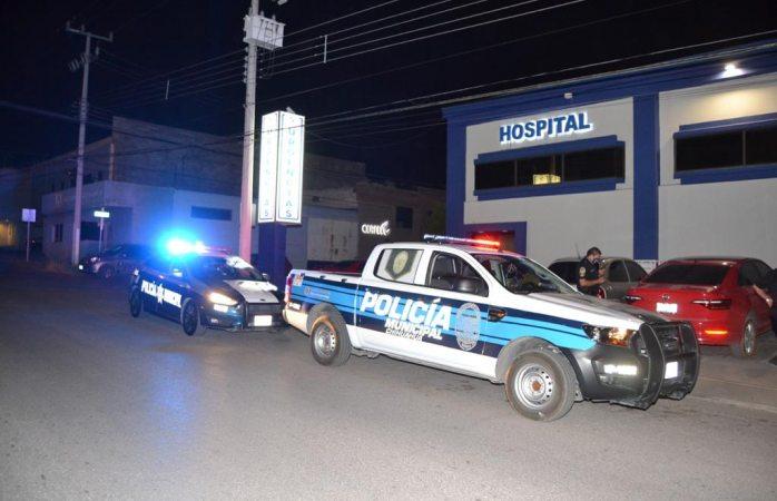 Llega joven baleado a la clínica de la colonia Panamericana