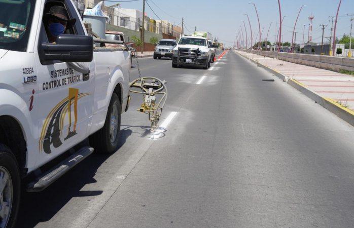 Pintará seguridad vial la teófilo borunda esta semana