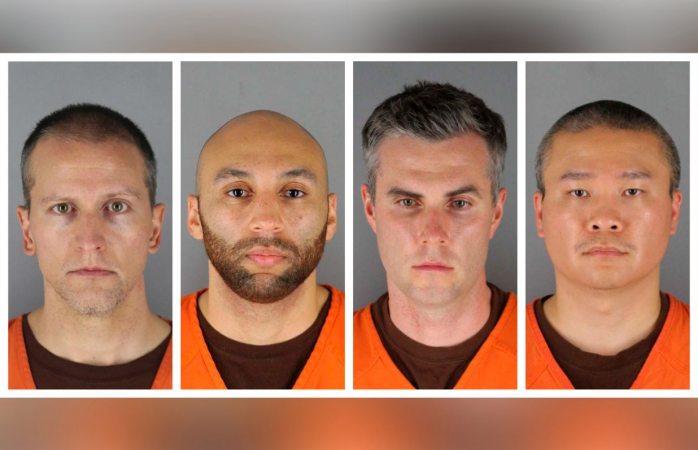 Bajo custodia los cuatro expolicías implicados en muerte de George Floyd