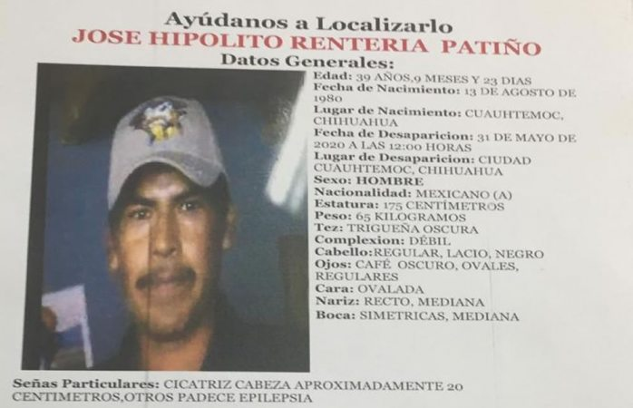 Desaparece en Cuauhtémoc