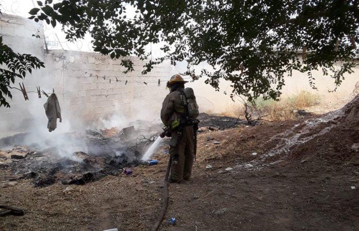 Atienden bomberos 4 emergencias durante la tarde