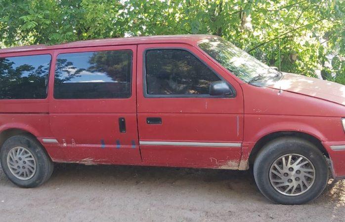 Aseguran policías de Julimes camioneta robada