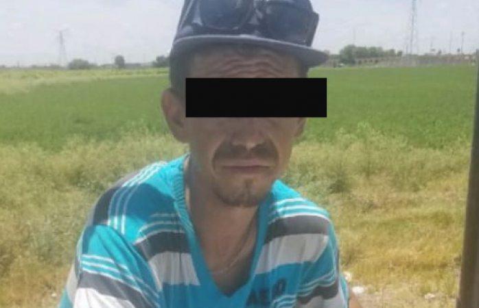 Policías de Delicias arrestan a sujeto y aseguran objetos robados