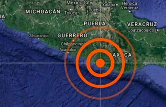 Tiembla durante la madrugada en oaxaca, 5.4 magnitud