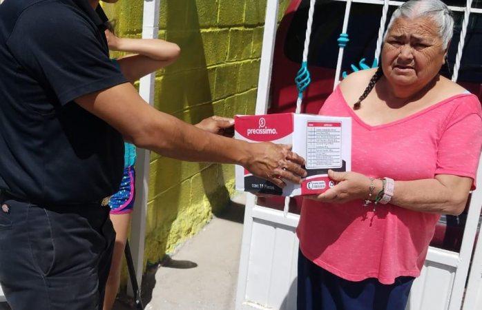 Entrega protección civil apoyos a adultos mayores