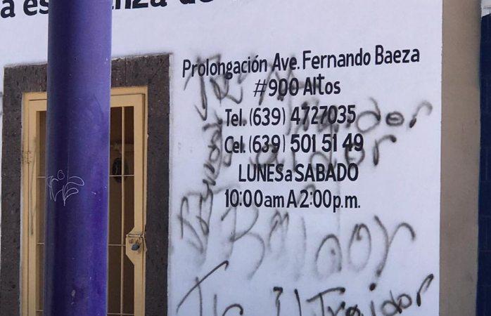 Morena se solidariza con productores; vandalizan instalaciones