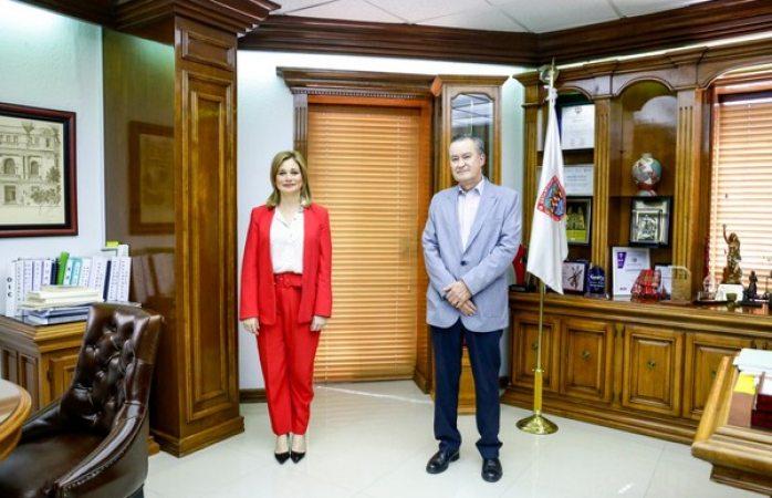 Se reúne maru con director local de asociación mexicana de bancos