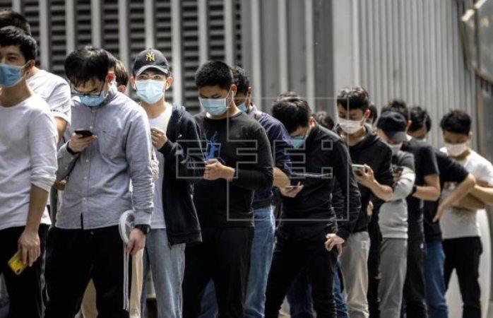 Vuelven a dar positivo por covid-19 un 14% de contagiados en china
