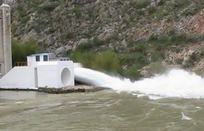Ganan productores: bajan flujo de agua a 55 metros cúbicos