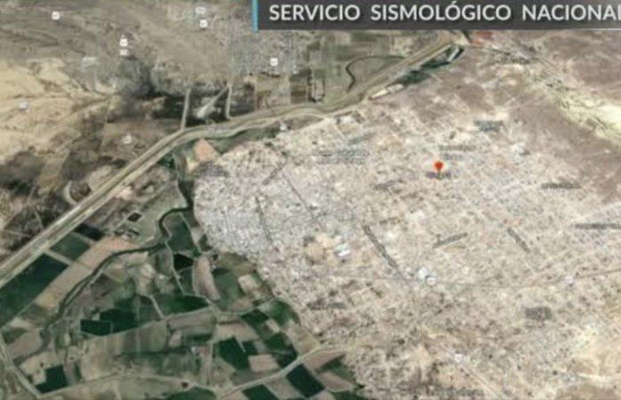 Cruza temblor de Juárez a Ojinaga