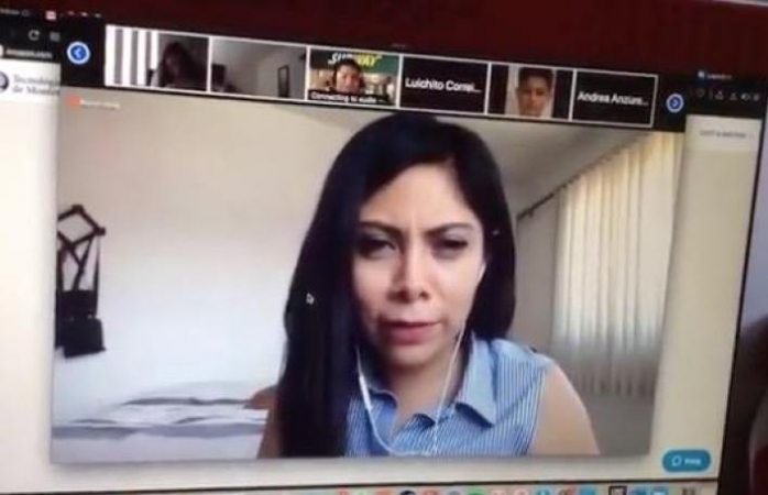 Ofende a maestra en clase online y se viraliza (VIDEO)