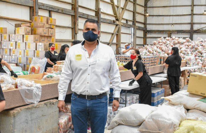 Van más de 27 mil despensas entregadas en parral