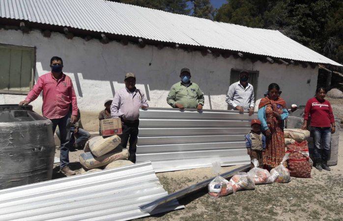 Inician programa de mejora de vivienda en pueblos indígenas de Guadalupe y Calvo