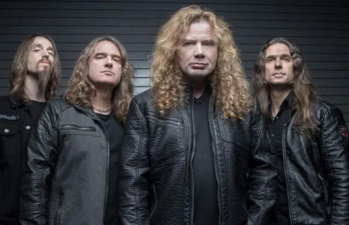Megadeth mueve su gira para el siguiente año