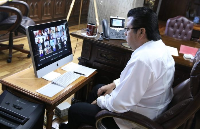 Encabeza alcalde de Juárez reunión de mesa para la construcción de la paz