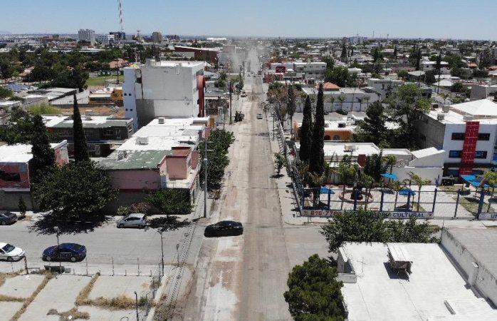 Inicia gobierno municipal reparación parcial de la avenida vicente guerrero