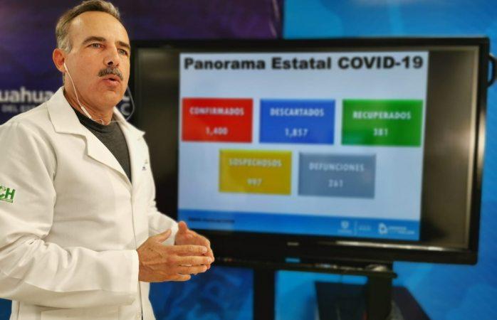 Hay 10 contagiados de covid en cereso de Juárez